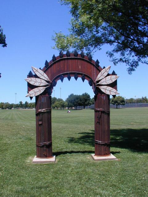Native American Ancestor Gate