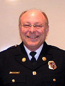 Fire Chief Steve Brown  1995 - 2008