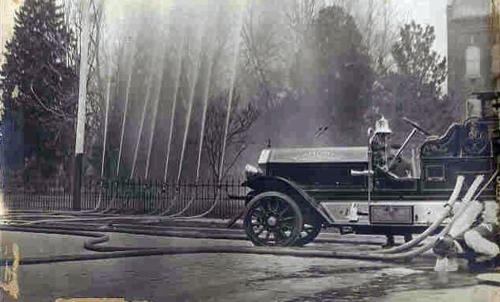 An old Chico Fire Engine