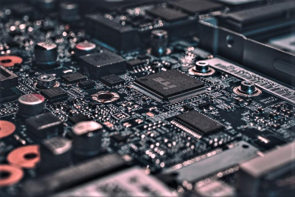 Abstract Circuit Board picture